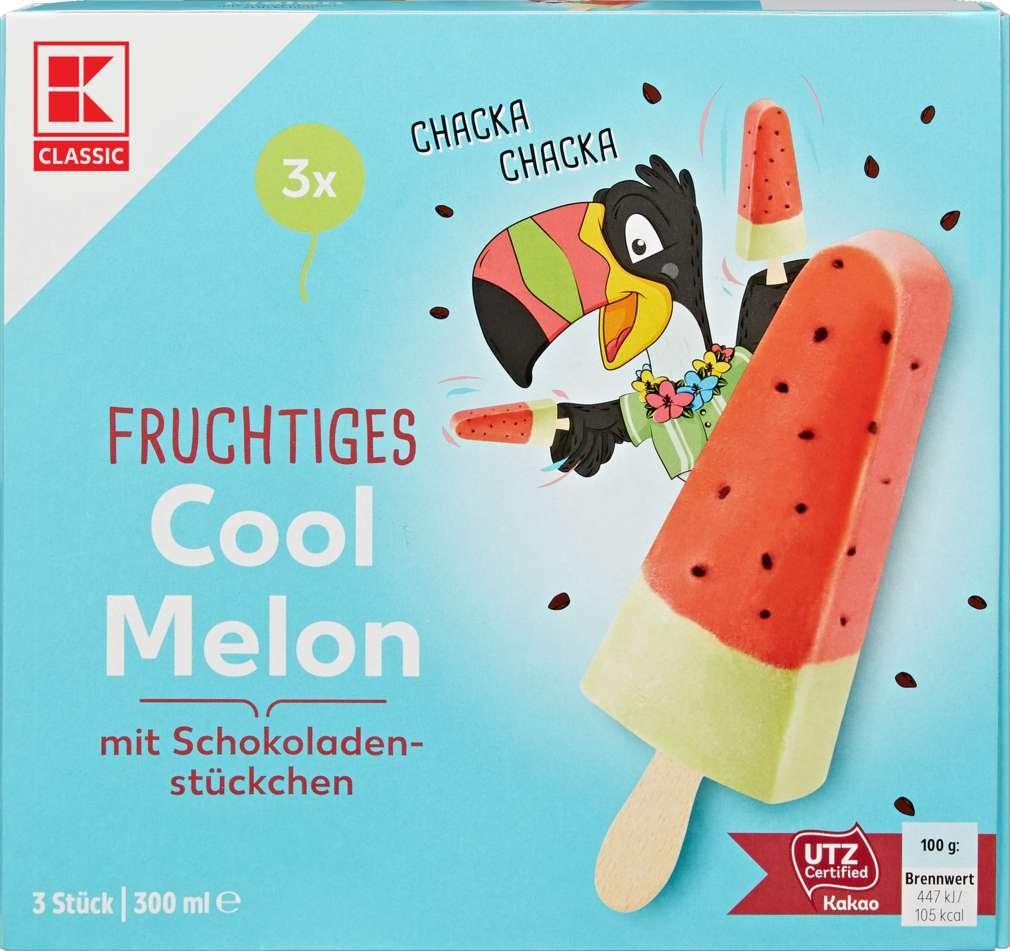 Abbildung des Sortimentsartikels K-Classic Stieleis Melone 3x100ml