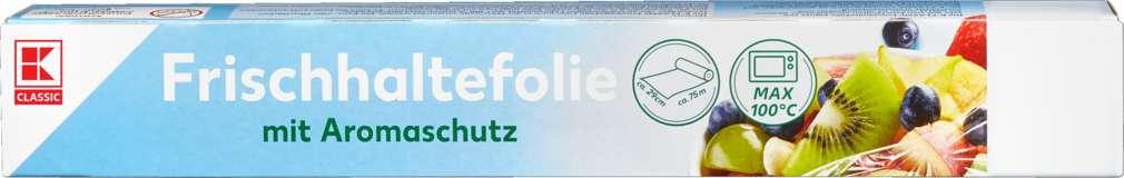 Abbildung des Sortimentsartikels K-Classic Frischhaltefolie 29cmx75m