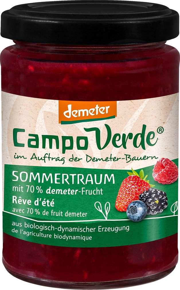 Abbildung des Sortimentsartikels Campo Verde Demeter Fruchtaufstrich Waldbeere 200g