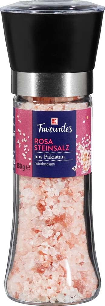 Abbildung des Sortimentsartikels K-Favourites Rosa Kristallsalz 190 g