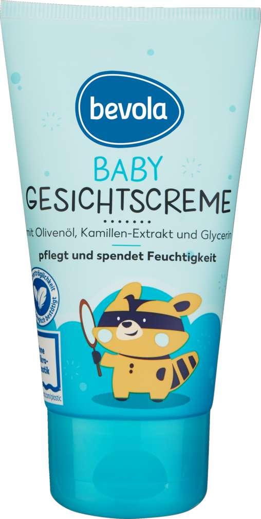 Abbildung des Sortimentsartikels Bevola Baby Gesichtscreme 75ml