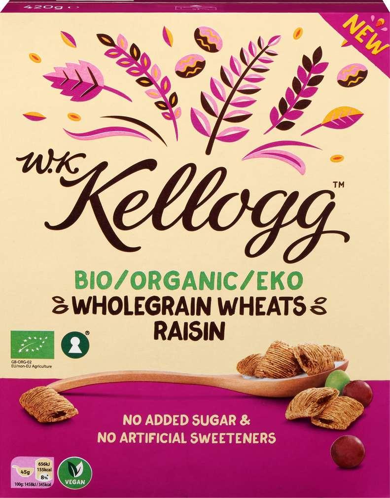 Abbildung des Sortimentsartikels Kellogg´s Bio-WholeGrain Wheats Raisin 420g