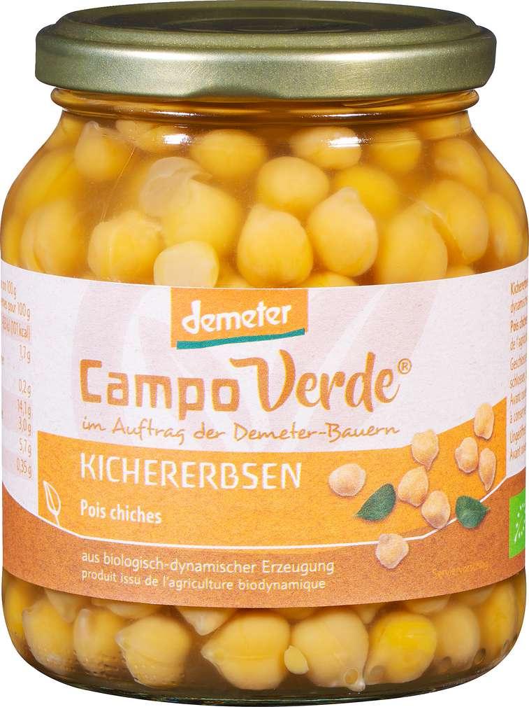 Abbildung des Sortimentsartikels Campo Verde Demeter Campo Verde Kichererbsen 350g