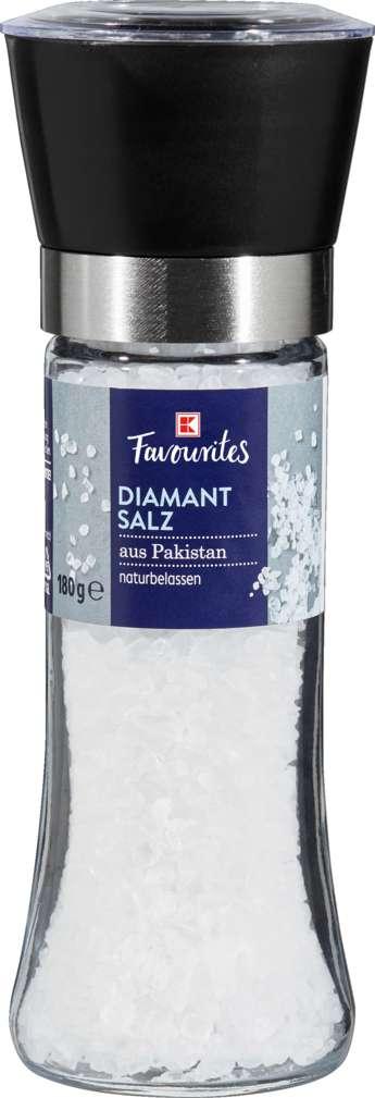Abbildung des Sortimentsartikels K-Favourites Diamantsalz Mü. 180 g