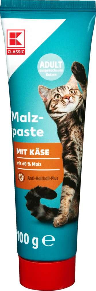 Abbildung des Sortimentsartikels K-Classic Katze Malzpaste mit Käse 100g