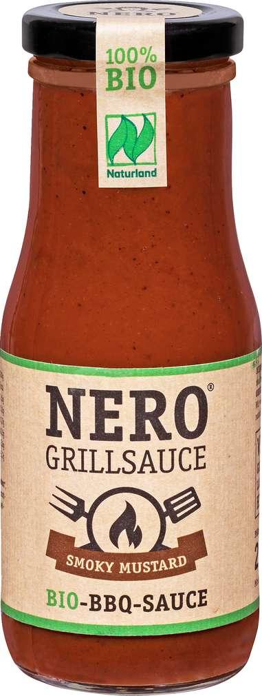 Abbildung des Sortimentsartikels Nero Bio-Grillsauce Smoky Mustard 250ml