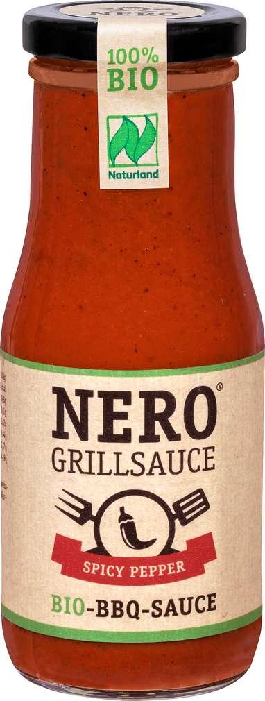 Abbildung des Sortimentsartikels Nero Bio-Grillsauce Spicy Pepper 250ml