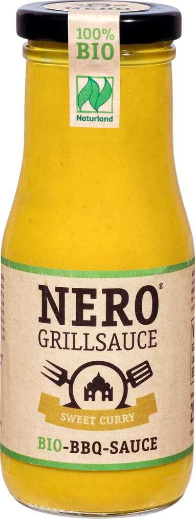 Abbildung des Sortimentsartikels Nero Bio-Grillsauce Sweet Curry 250ml