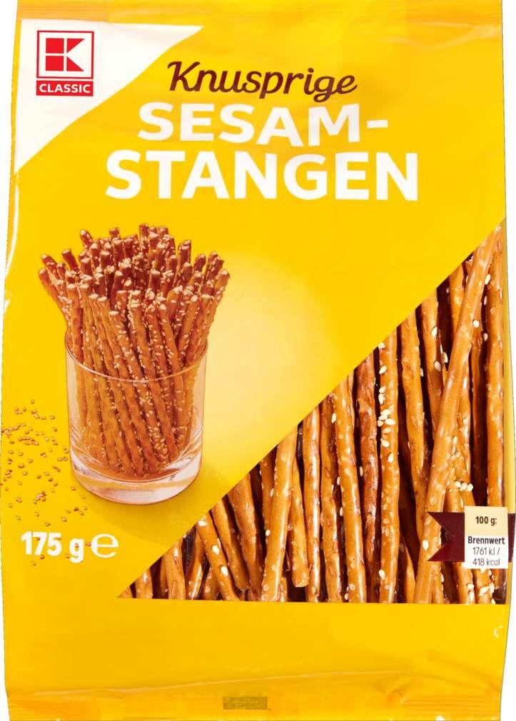 Abbildung des Sortimentsartikels K-Classic Sesamstangen 175g