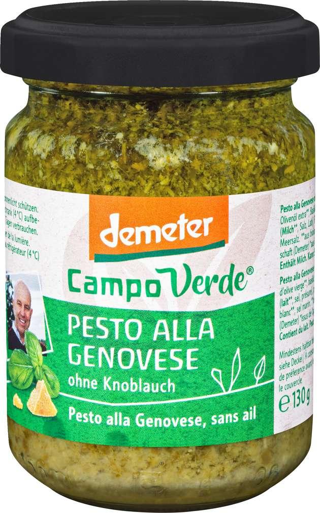 Abbildung des Sortimentsartikels Campo Verde Demeter Pesto alla Genovese 156ml