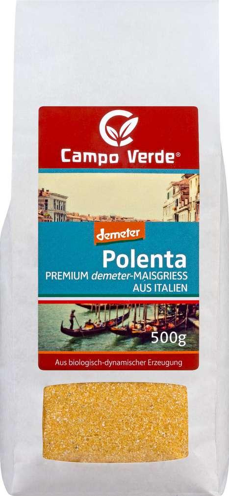 Abbildung des Sortimentsartikels Campo Verde Demeter Polenta 500g