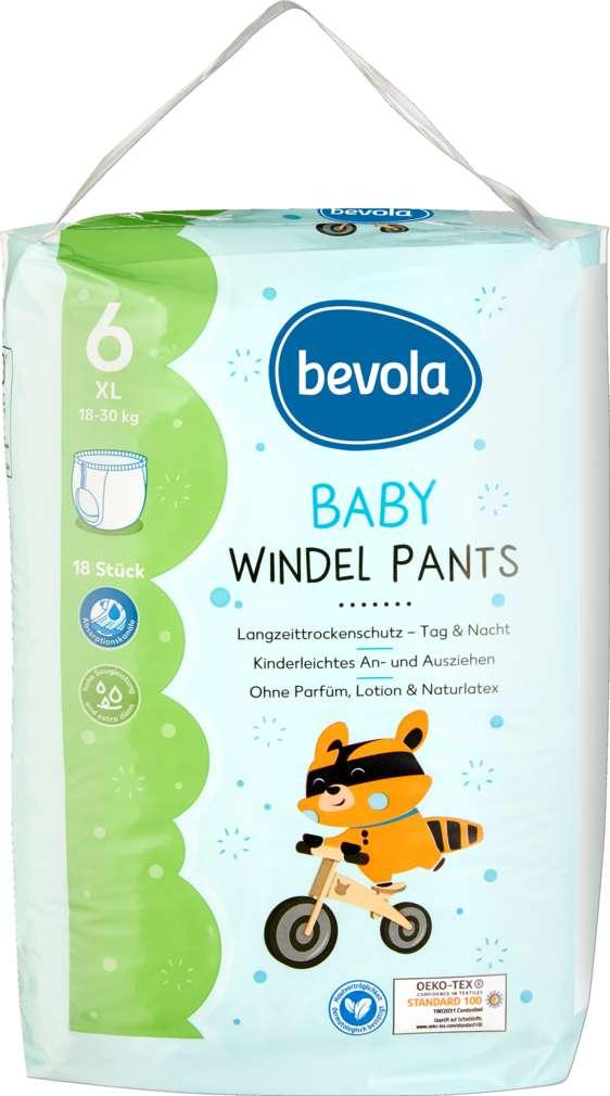 Abbildung des Sortimentsartikels Bevola Windel Pants XL 18 Stück
