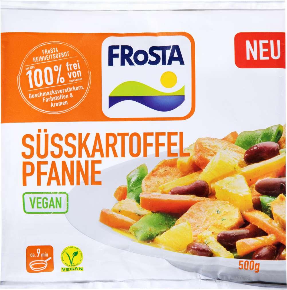 Abbildung des Sortimentsartikels Frosta Süsskartoffel Pfanne tiefgefroren 500g