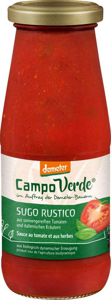 Abbildung des Sortimentsartikels Campo Verde Demeter Sugo Rustico 446ml