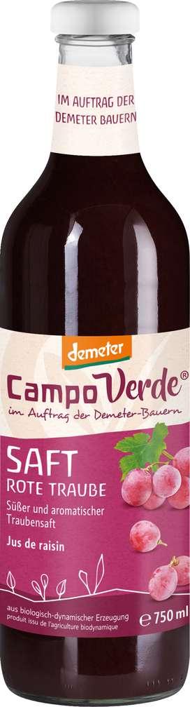 Abbildung des Sortimentsartikels Campo Verde Demeter Traubensaft 750ml