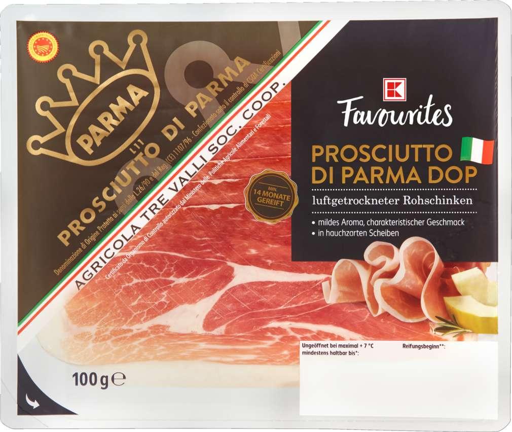 Abbildung des Sortimentsartikels Exquisit Prosciutto di Parma 100g