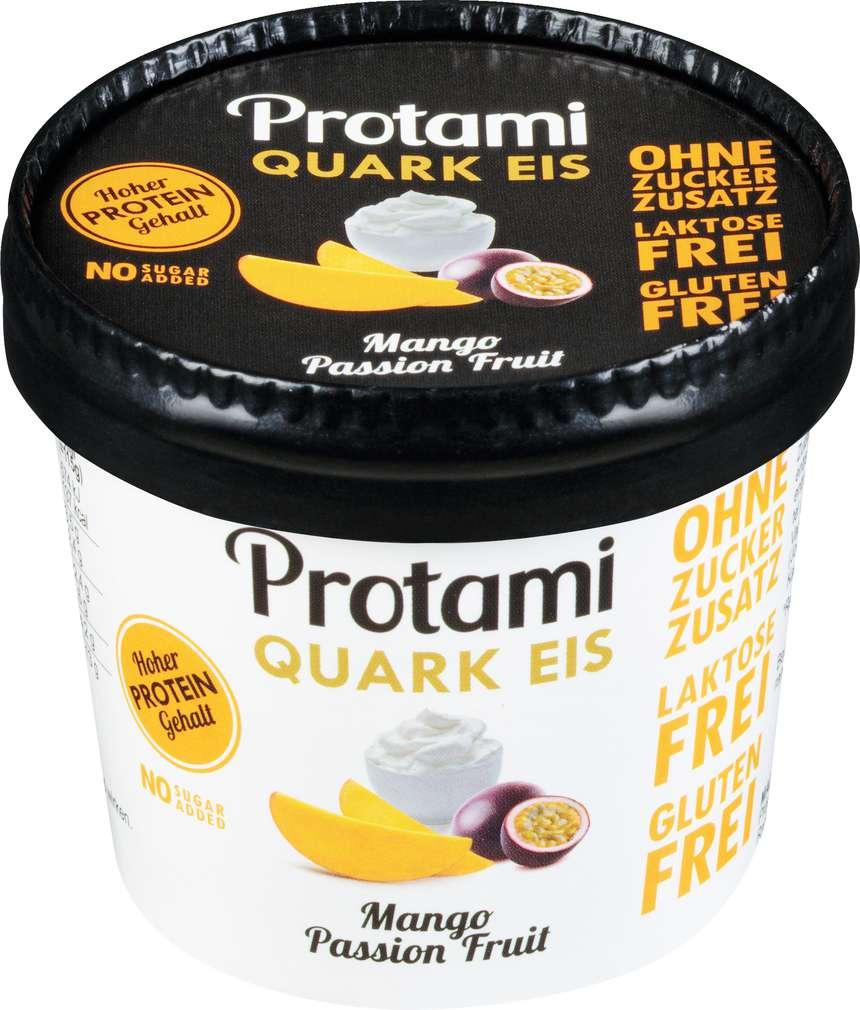 Abbildung des Sortimentsartikels Protami Protein Eis Mango Passion Fruit 180ml