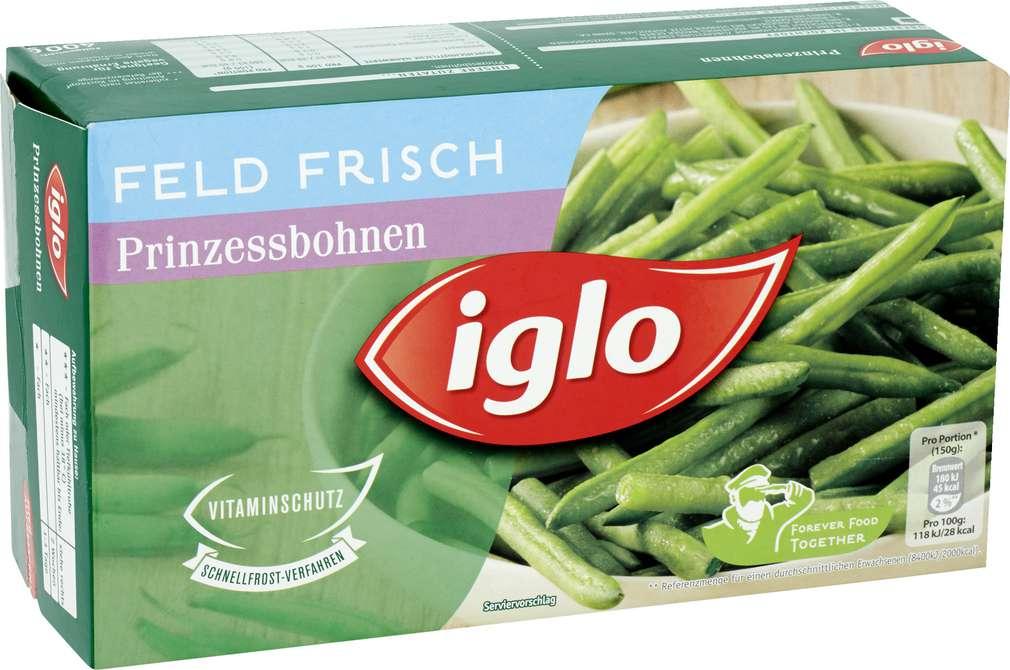 Abbildung des Sortimentsartikels Iglo Feld Frisch Prinzessbohnen 400g