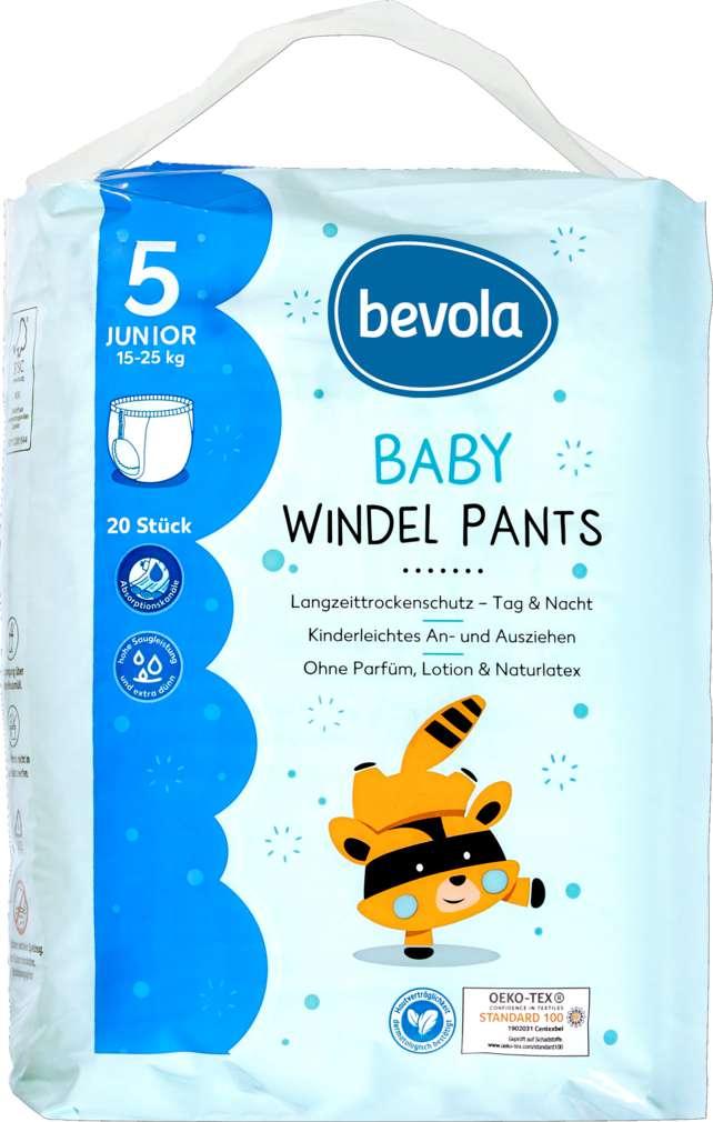 Abbildung des Sortimentsartikels Bevola Windel Pants Junior 20 Stück