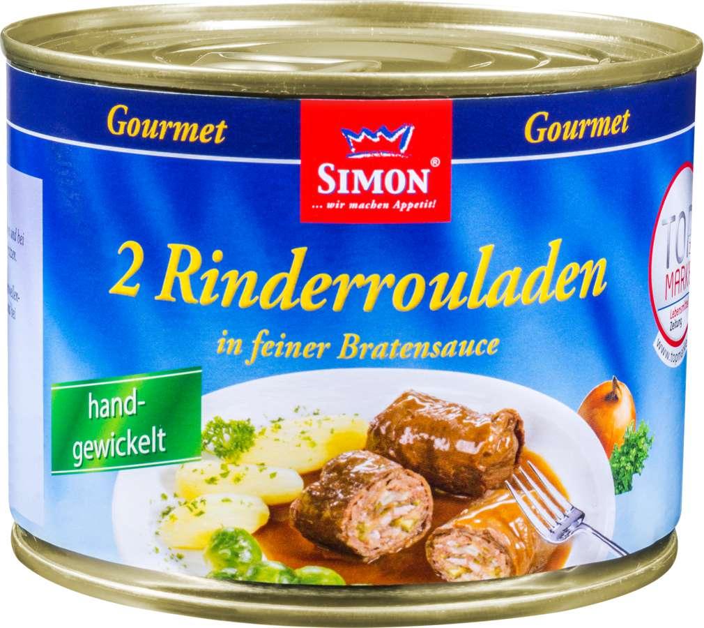 Abbildung des Sortimentsartikels Simon Werner Rindsrouladen 500g