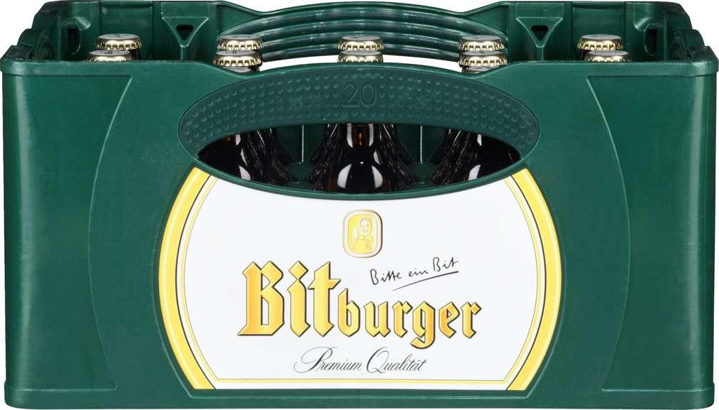 Abbildung des Sortimentsartikels Bitburger Bitburger Pils Stubbi 20x0,33l