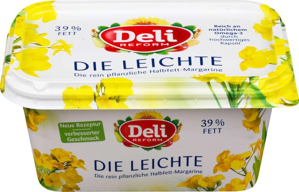 Abbildung des Sortimentsartikels Deli Reform leicht laktosefrei, 39% Fett Halbfettmargarine 500g