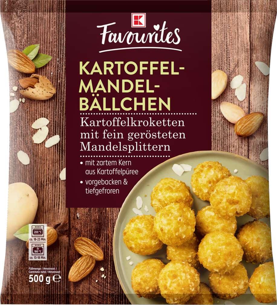 Abbildung des Sortimentsartikels K-Favourites Mandelbällchen 500g