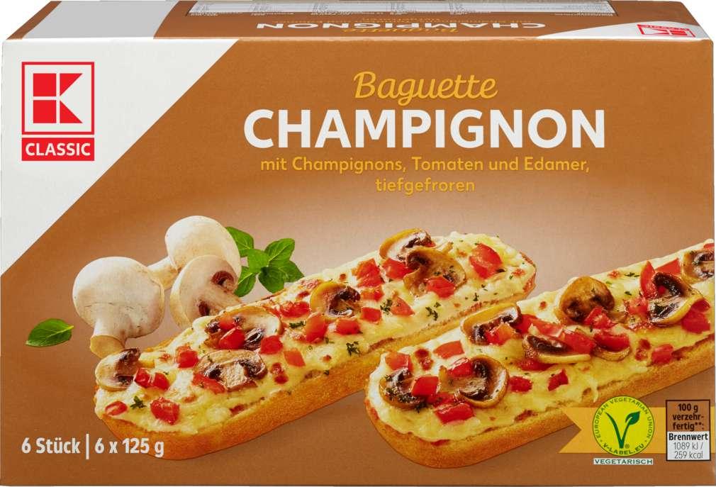 Abbildung des Sortimentsartikels K-Classic Baguette Champignon 6x125g = 750g