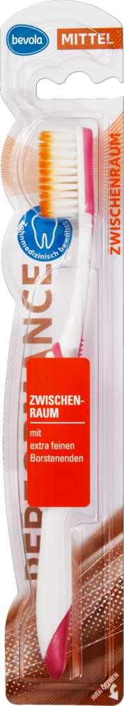 Abbildung des Sortimentsartikels Bevola Zahnbürste Zwischenzahn 1 Stück