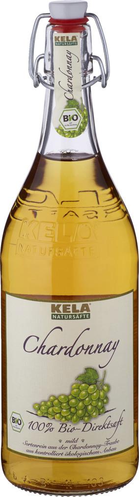 Abbildung des Sortimentsartikels Kela Natursäfte Chardonnay Traubendirektsaft 1l