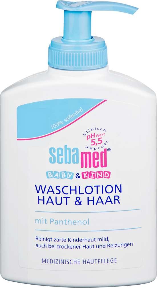 Abbildung des Sortimentsartikels Sebamed Baby & Kind Waschlotion Haut & Haar 200ml