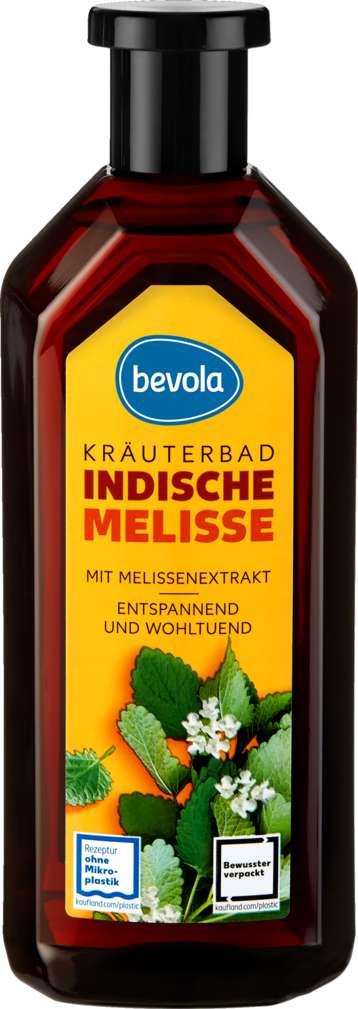 Abbildung des Sortimentsartikels Bevola Kräuterbad Indische Melisse 500ml