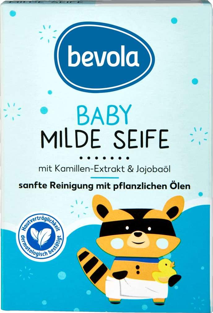 Abbildung des Sortimentsartikels Bevola Babyseife mild 100g