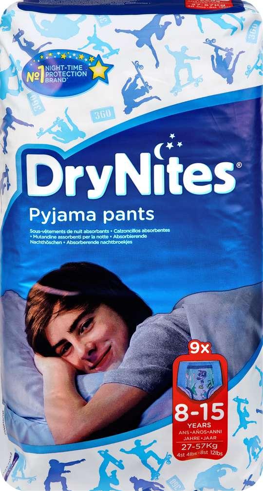 Abbildung des Sortimentsartikels DryNites Pyjama Pants Jungs 8-15 Jahre 9 Stück