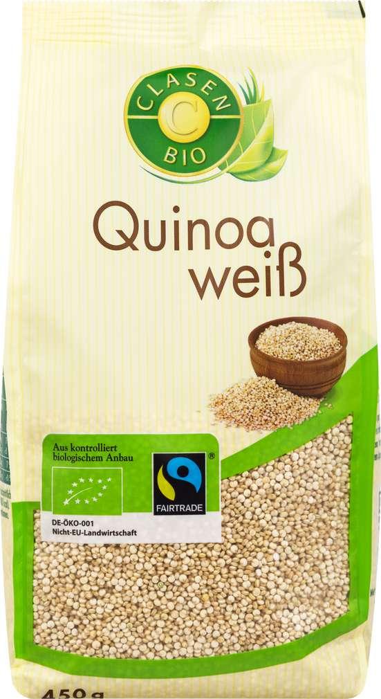 Abbildung des Sortimentsartikels Clasen Bio Quinoa Weiß 450g