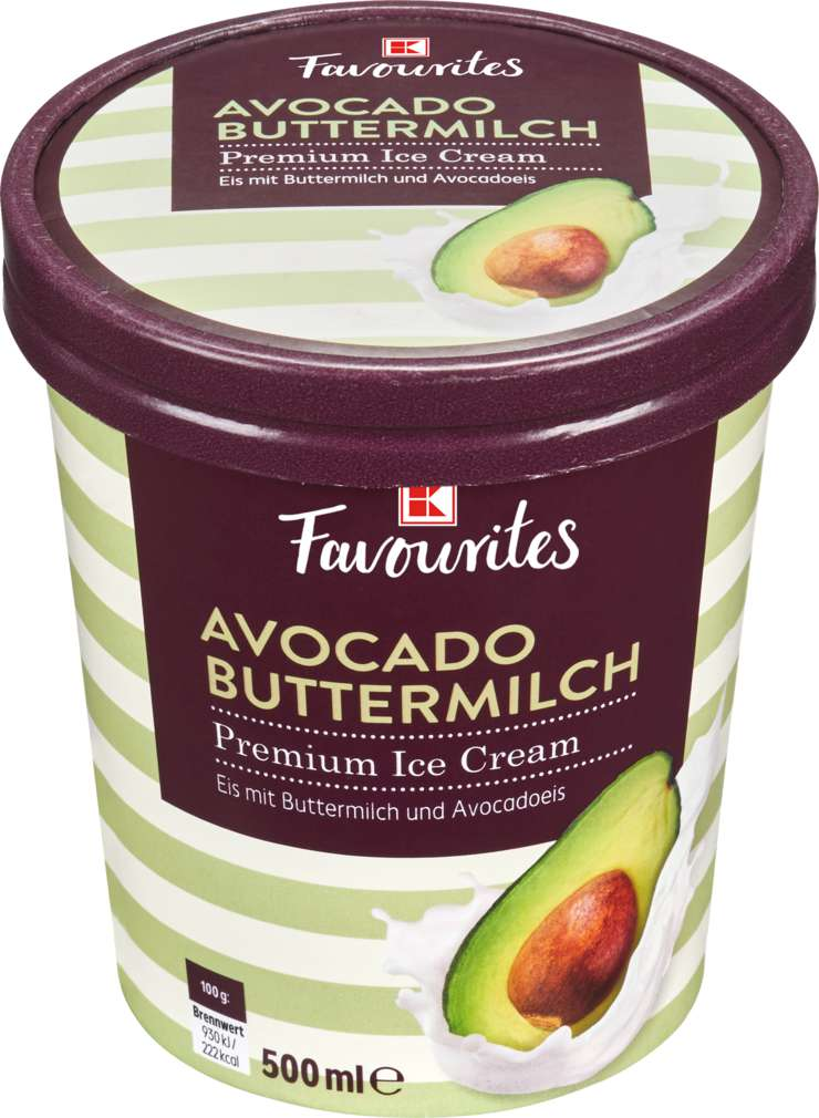 Abbildung des Sortimentsartikels K-Favourites Buttermilch Avocado 500ml