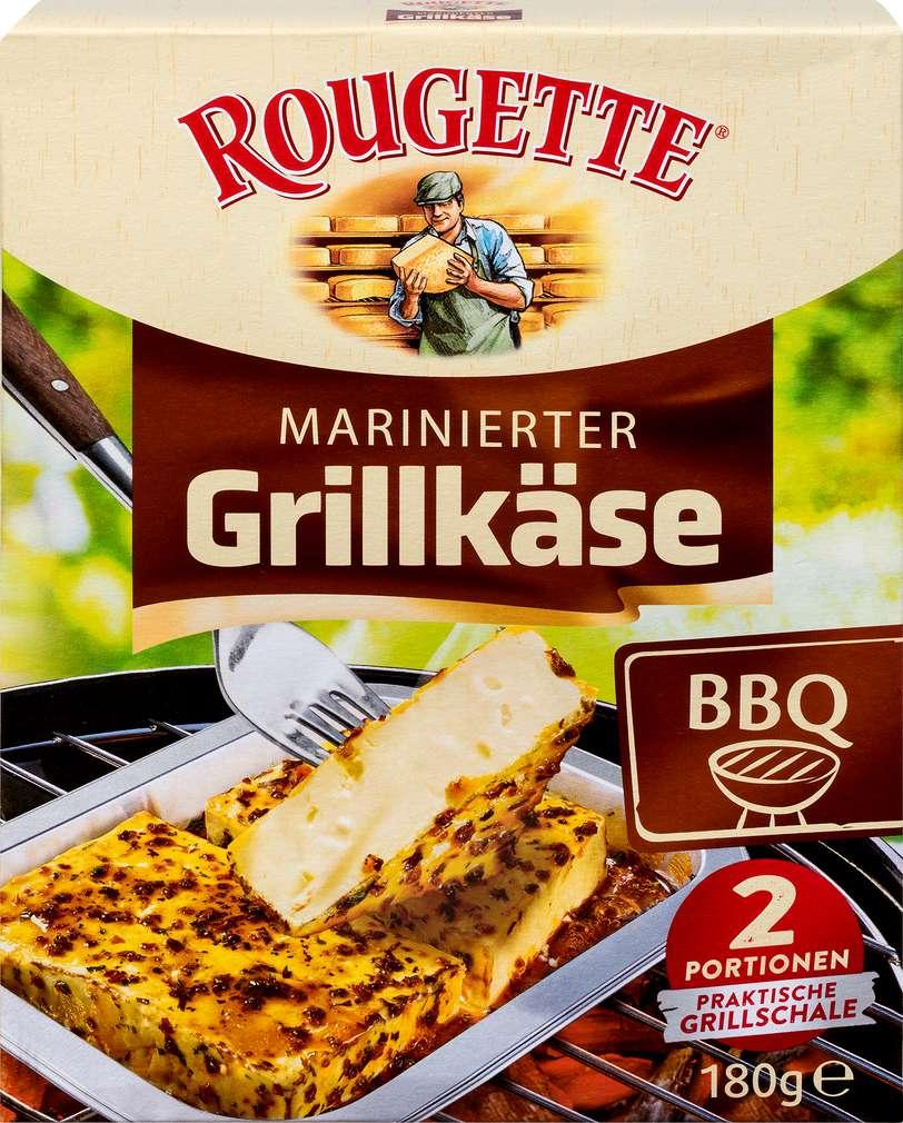 Abbildung des Sortimentsartikels Rougette BBQ Grillkäse 55% Fett i.Tr. 180g