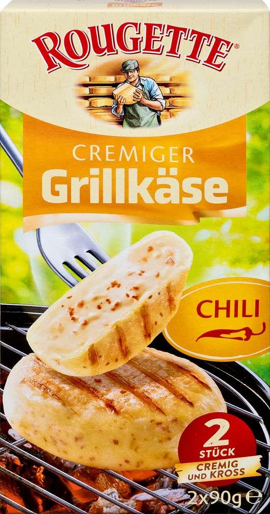 Abbildung des Sortimentsartikels Rougette Chili  Grillkäse 55% Fett i.Tr. 180g