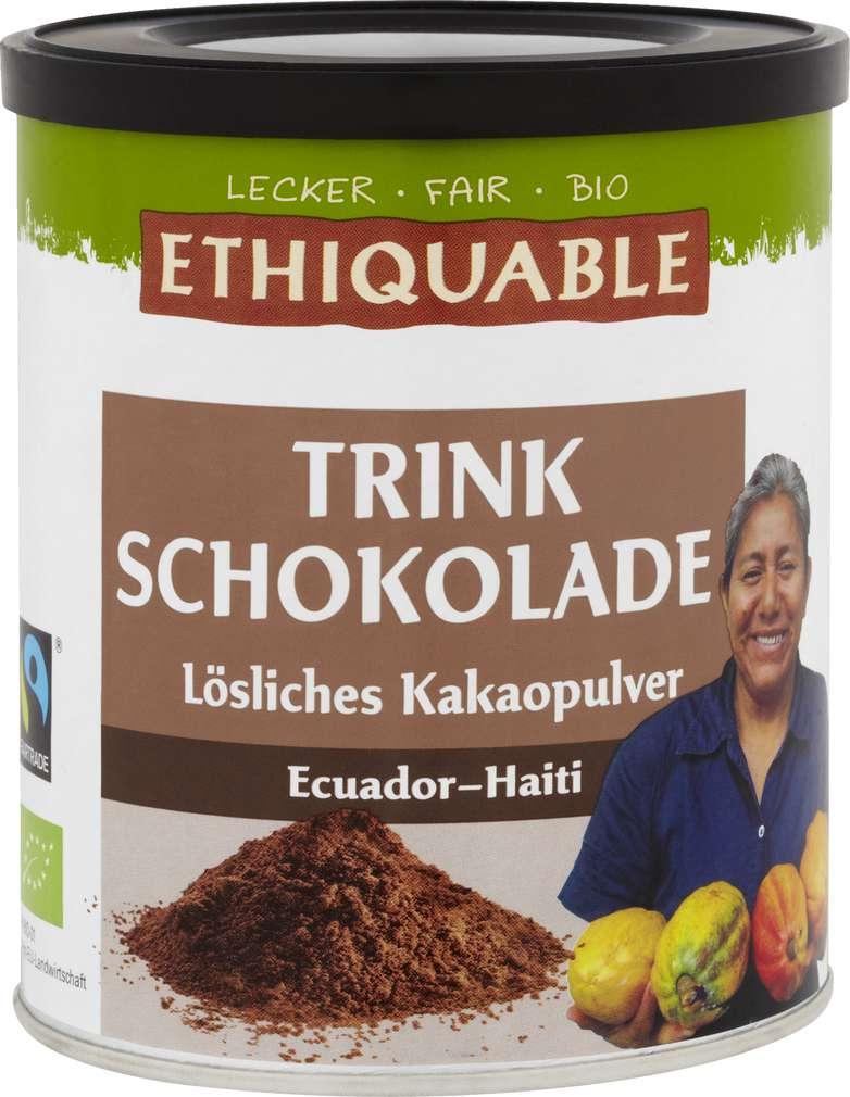 Abbildung des Sortimentsartikels Ethiquable Trinkschokolade 500g
