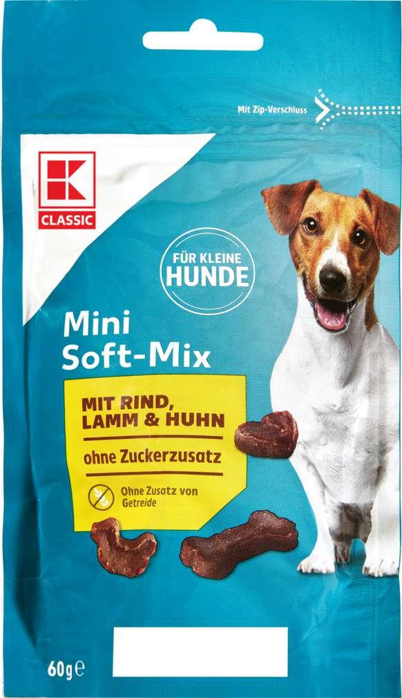 Abbildung des Sortimentsartikels K-Classic Hundebelohnung Soft Mix 60g