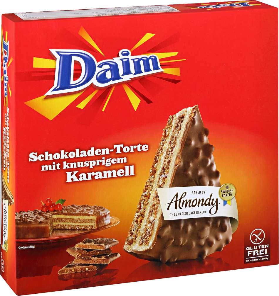 Abbildung des Sortimentsartikels Almondy Daim Schokoladen-Torte 400g