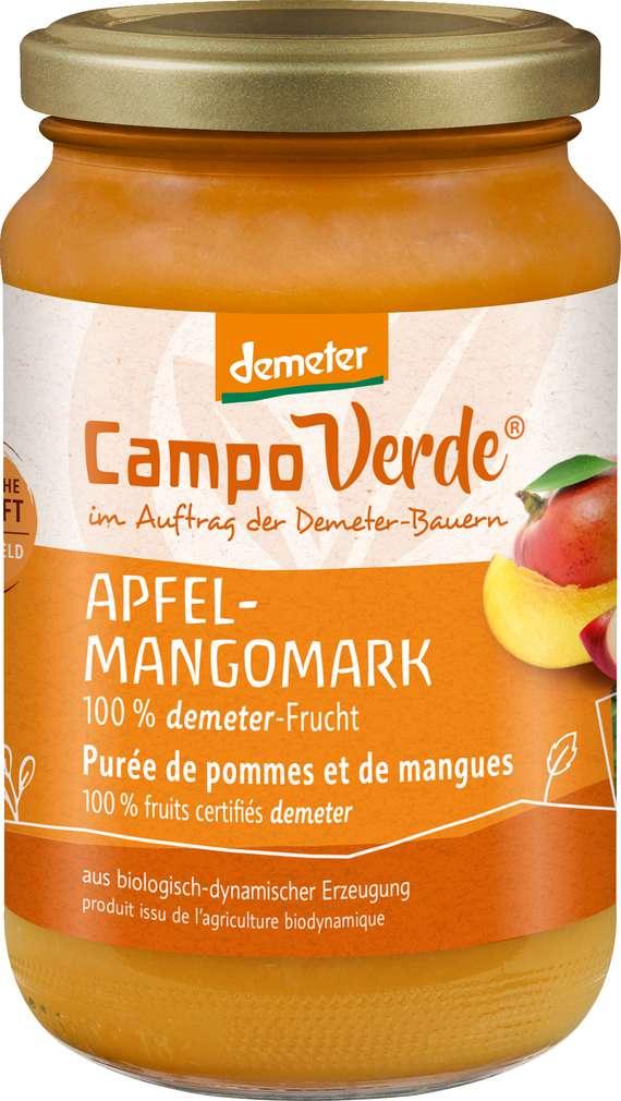 Abbildung des Sortimentsartikels Campo Verde Demeter Apfel-Mangomark 360g