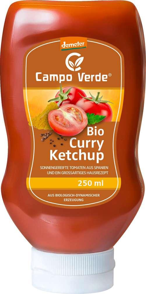 Abbildung des Sortimentsartikels Campo Verde Demeter Curry Ketchup 250ml