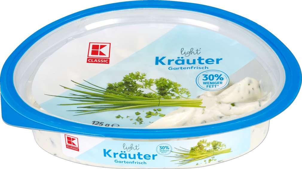 Abbildung des Sortimentsartikels K-Classic Frischkäsezubereitung Kräuter light 125g