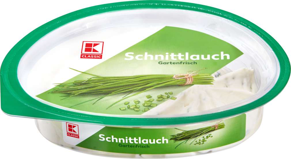 Abbildung des Sortimentsartikels K-Classic Frischkäsezubereitung Schnittlauch 125g