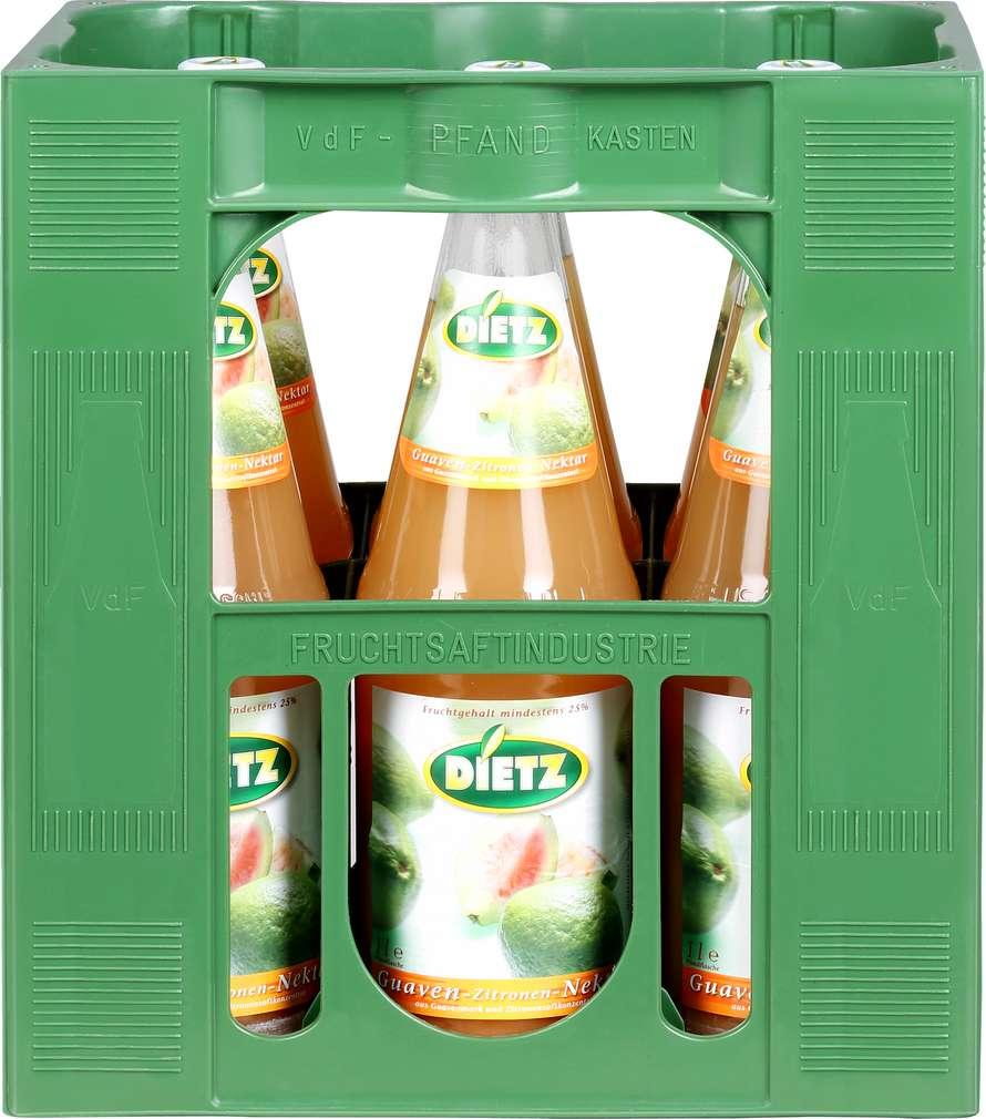Abbildung des Sortimentsartikels Dietz Guaven-Nektar 6x1l