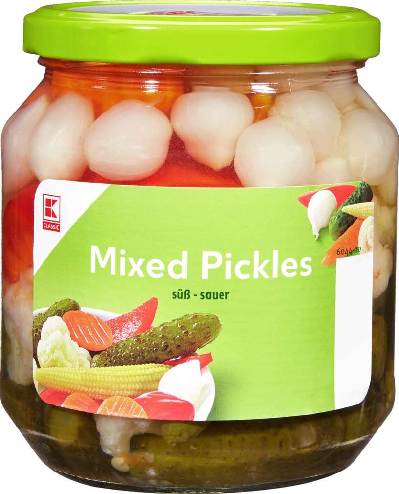 Abbildung des Sortimentsartikels K-Classic Mixed Pickles 580ml