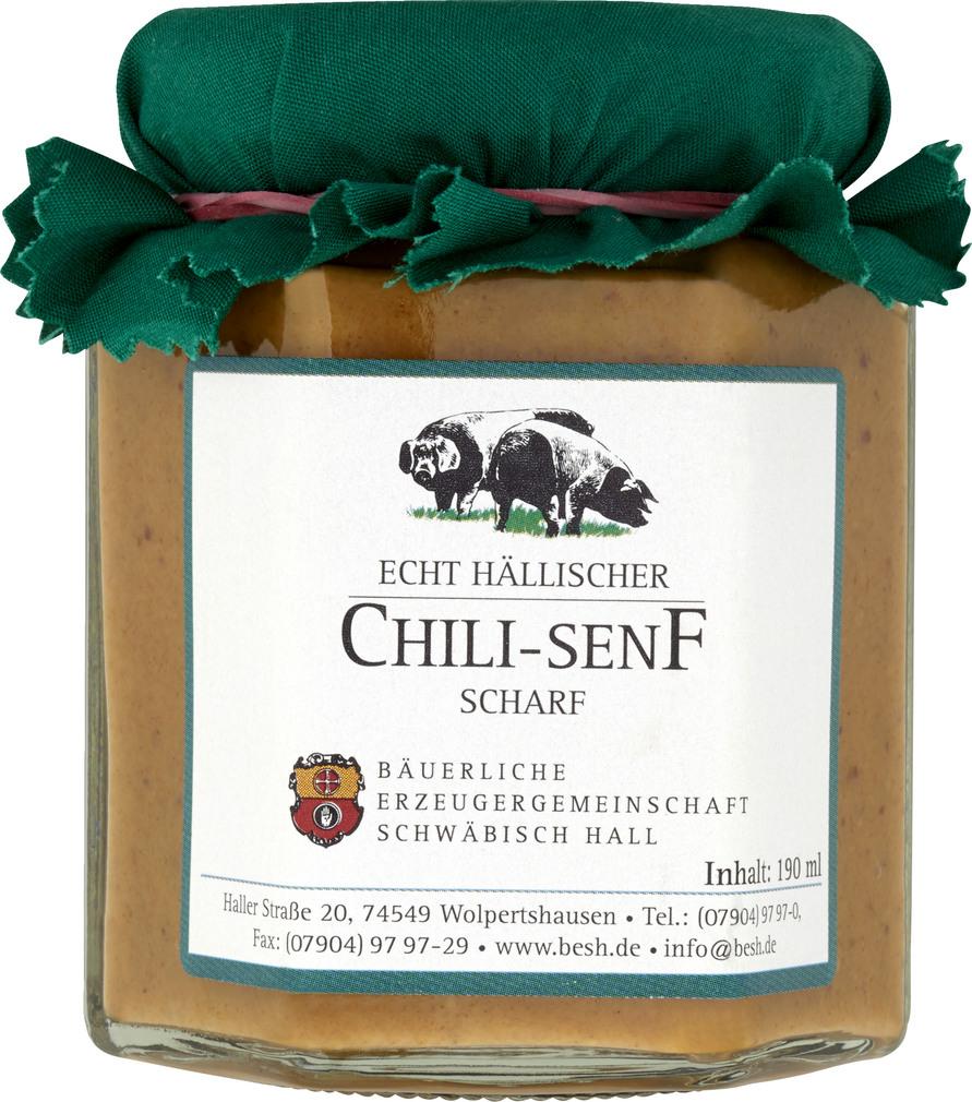 Abbildung des Sortimentsartikels BESH Chili-Senf scharf 190ml