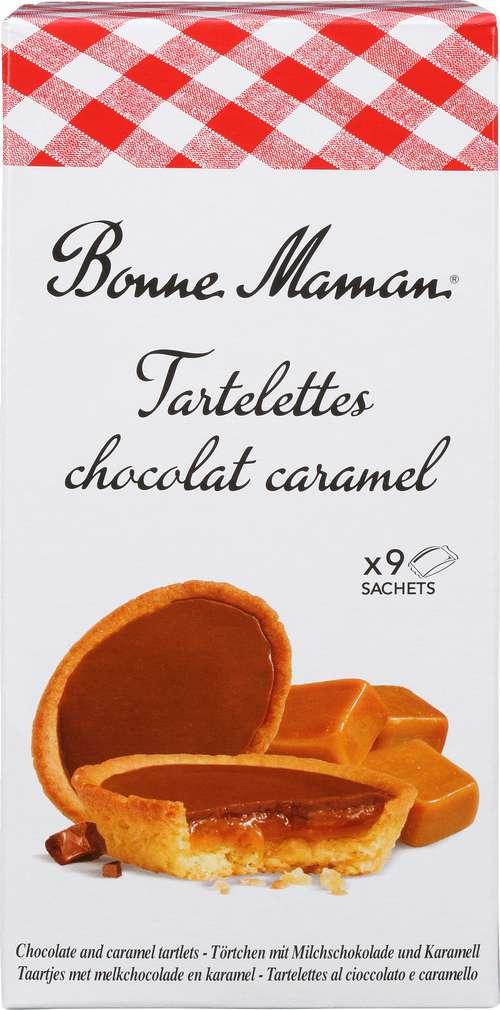 Abbildung des Sortimentsartikels Bonne Maman Tartelettes Chocolat Caramel 135g
