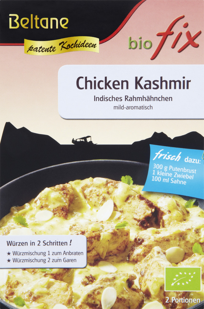 Abbildung des Sortimentsartikels Beltane biofix Bio Fix Chicken Kashmir 18g